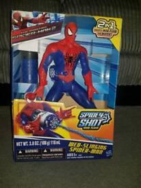 Web slinging spider man