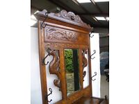 Antique Mahogany Hallstand in perfect condition.