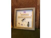 Happy Birthday Pebble Art (also made to order)