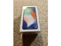 iPhone X - 64gb on O2 - Sealed