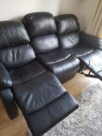 3 seats sofa recliner
