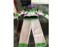 Buzz Lightyear Toy Story costume aged 3-4 years