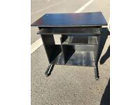 Black pc desk mint condition