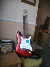 fender squire sratorcastor lovely conditon great christmas prezzy