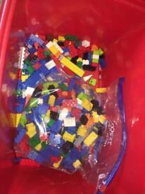 Assortment of LEGO bricks