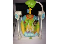 Fisher Price Baby Swing and Seat Rocker 2in1