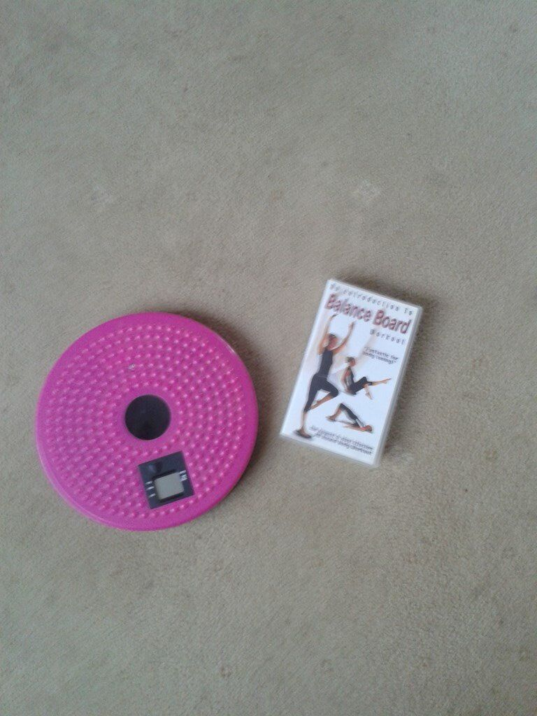 Fitness board and VHS tapein Goring by Sea, West SussexGumtree - Fitness board with Fitness VHS tape please email me or call after 4pm