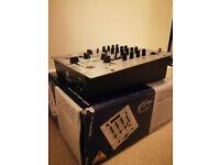 Behringer DX626 2/3-channel DJ Mixer w/cables & original box/manuals