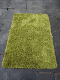Rug green very soft from Bhs