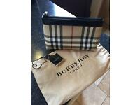 BURBERRY Cosmetic Bag - NEW With Tags