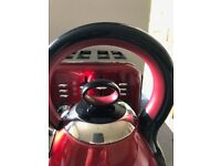 RED RUSSELL HOBBS KETTLE & MORPHY RICHARDS TOASTER