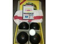 Henselite lawn indoor short mat bowls . Jack Total GamePlan Audio CD extras