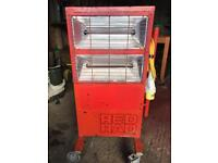 Industrial Red Rad Heater