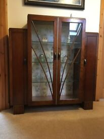 Art Deco Cabinet - 1930s/40s