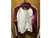 Fred perry bomber jacket large