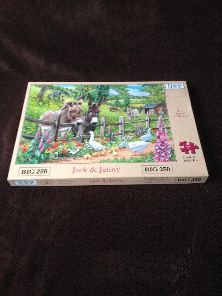 Puzzles Jack & Jenny 250 Piece Jigsaw