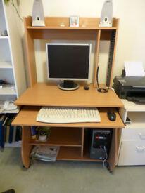 Office desk for homeworker workstation