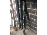 Dynastar skis with look bindings and salalon poles