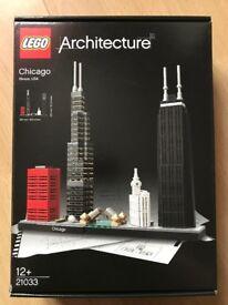 LEGO Chicago Skyline - Part of the Architecture Range