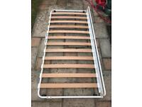 Ikea King Size bed under bed single pull out