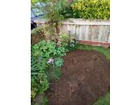 Filtered topsoil