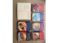 Full Harry Potter series (7 books) by J K Rowling - very good condition 3 hardback 4 paperback