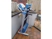 York Folding Treadmill and Exercise Bike (Used) - £100