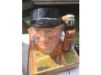 British cricket Toby mug