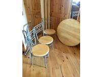 **Pending Collection** Free Table and Chairs
