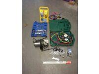 Refrigerant engineer kit
