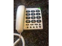 Doro big button telephone