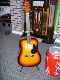 Chantry Acoustic Guitar. Nice Instrument still like new.