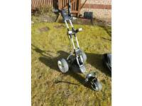 Motocaddy M3 Pro Golf Trolley with accessories (Lithium battery) * BARGAIN *