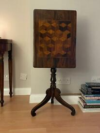 Victorian Rosewood Parquetry Table Delivery Available