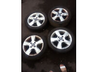 4 Alloy Wheels for a 2006 Ford Focus Freedom, Zetec
