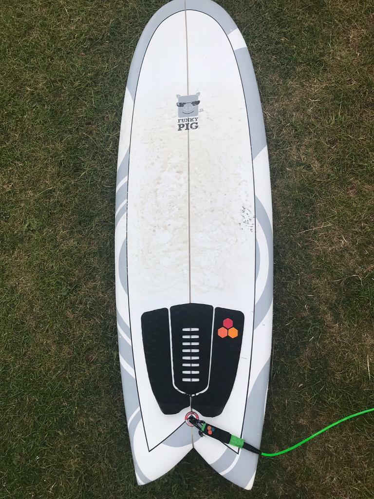 24d9bab8fa Circle one funky pig surfboard | in Padstow, Cornwall | Gumtree
