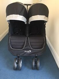 Bargain Brand New Baby Jogger City Mini Double Buggy