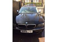 A BLACK BMW SERIES 740 - YEAR 2007, GEAR BOX NOT WORKING, PRICE £2500