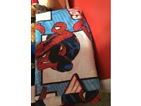 Spider-Man bedroom curtains long length