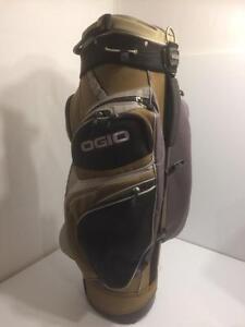 Ogio Golf 14 club slot cart bag, rain cover