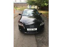 AUDI A3 BLACK EDITION 2012 SAT NAV ROTORS NOT VW BMW GTD QUATTRO S3