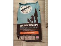 4 sacks of dog food