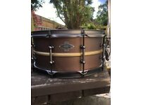 Liberty copper snare drum