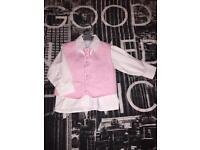 Baby waistcoat set