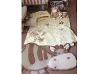 Zeddy and Parnsip Nursery Set (Mamas and Papas)