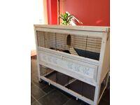 Rabbit/guinea pig indoor cage