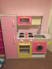 Wooden play kitchen from Great Little Trading Company