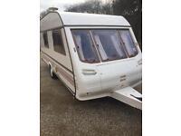 Eccles 4 berth family caravan