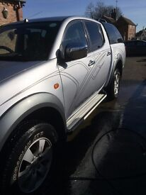 Mitsubishi L200 Animal. Very low mileage, Very good condition with just a few user marks.