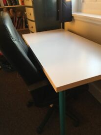 Ikea Alex/ Linmon Desk and Drawers, Crouch End / Muswell Hill / Hornsey pickup